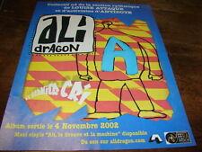 ALI DRAGON - PUBLICITE DERNIER CRI - NOV 2002 - ALI !!!