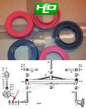 2*Dichtring BAJ Radnabe Wellendichtring Vorderachse Traktor Fahr D88Manschette