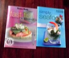 2 x Women's Weekly Mini Cookbooks Simply seafood & Fast Fish