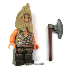 NEW LEGO The Hobbit Desolation of Smaug 79011 BEORN Minifigure w/Battle Axe BEOR