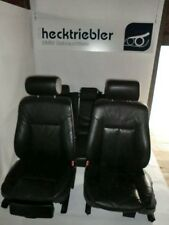 Schwarze Lederausstattung mit Türpappen/ Türverkleidungen Memory BMW E39 Touring