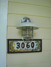 Large Aluminum 90 degree Nautical Dock & Wall Light- aluminum nautical light