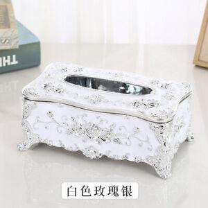 Fashion European Vintage Tissue Box Napkin Holder Paper Case Cover Home Decor