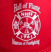 MUSEUM OF FIRE FIGHTING baseball cap Hall of Flame hat NHFF fireman 1961