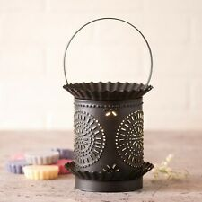 Wax Tart Warmer Jumbo Chisel Pattern Electric Kettle Black Irvins Country