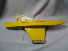 AH406 GIRAUD-SAUVEUR GS BATEAU VOILIER BASSIN BOIS ANNÉES 1967 A 1970 Lg 60 CM