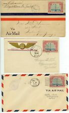 1928-31 air mail covers with Sc 11