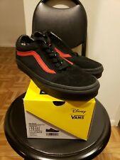 Vans Disney Mickey Mouse Club Black Old Skool Shoes Sneakers 5.5 men 7 women NIB