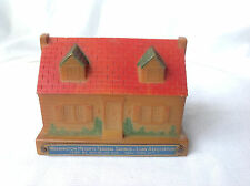 Early 1950s Plastic House Promo Giveaway Washington Heights Bank New York City