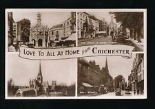 Sussex CHICHESTER m/view used 1947 RP PPC
