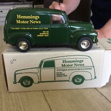 Ertl 1950 Chevy panel truck bank-Hemmings