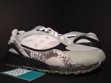 SAUCONY SHADOW 6000 EXTRA BUTTER MOON WALKER SILVER GREY BLACK 70144-1 NEW 10.5