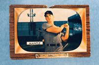 1955 Bowman Mickey Mantle New York Yankees #202 Baseball Card HOF Set Break