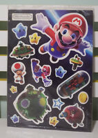 SHEET OF MARIO MAGNETS FROM THE OFFICIAL NINTENDO MARIO MAGAZINE!
