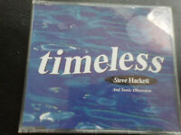 STEVE  HACKETT  and SONIC  OBSESSION  -   TIMELESS ,    CD   1994,  JAZZ -  ROCK