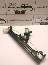 Fiat 500 drivers side front window regulator fits all fiat 500 2008 onward