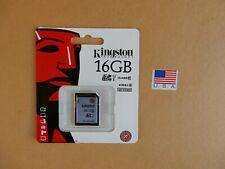 Kingston® Digital SDHC Class 10 UHS-I 45R/10W Flash Memory Card (SD10VG2/16GB)