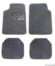 Velours Autoteppiche 4tlg. Automatte Fußmatten Satz Schwarz für Opel VW BMW Audi
