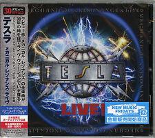 TESLA-MECHANICAL RESONANCE LIVE -JAPAN CD Bonus Track F56