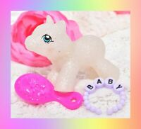 ❤️My Little Pony MLP G1 Style HQG1C Newborn Baby Sparkle Glitter Blank❤️