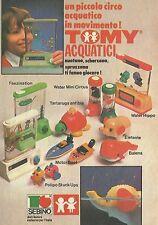 X2292 TOMY Acquatici - Water Mini Circus - Pubblicità 1980 - Advertising