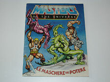 MOTU HE-MAN MASTERS OF THE UNIVERSE MINI COMIC 1983 MASKS OF POWER DE IT FRANCE