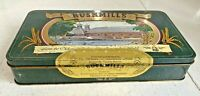 BUSHMILLS WHISKEY MINIATURE COLLECTION EMPTY TIN - CONTAINER BOX WHISKY
