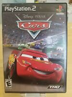 Disney Pixar Cars Greatest Hits (Sony PlayStation 2, 2006) PS2 Complete CIB