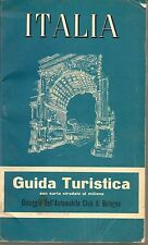ITALIA  GUIDA TURISTICA 1958 - Automobil Club Bologna / De Agostini