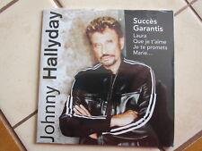 cd album neuf Johnny Hallyday Succés Garantis Crédit Mutuel 2003 compilation
