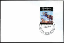 Somaliland 1998 Hartebeest Airmail Official Blue Overprint Cover #C33795