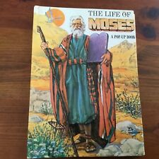 VINTAGE POP-UP BOOK - THE LIFE OF MOSES - A POP-UP BOOK HC - GC - NDS