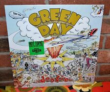 GREEN DAY - Dookie, Limited Edition GREEN VINYL LP New & Sealed!