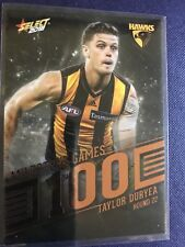 AFL Select Trading Cards 100 Game Milestone Taylor Duryea Hawthorn