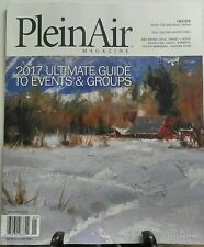 Plein Air Magazine Jan 2017 Ultimate Guide To Events & Groups FREE SHIPPING sb