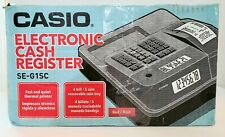 Brand New Casio Cash Register Se G1 For Retail Businesses Thermal Printer Red