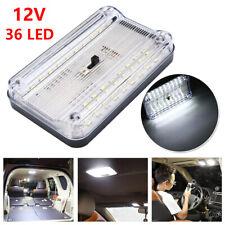 36 LED Plafoniera 12V Camper Lampada Luci Interno Per Auto Barca Roulotte Bianco
