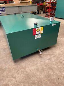 Bunded HEATING OIL TANK1200Ltr / 300gl  METAL (NEW) STEEL OIL TANK Low Profile