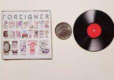 Miniature record album Barbie Gi Joe 1/6 Playscale Foreigner Complete Greatest