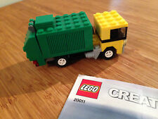 Lego Creator Basic Model Set 20011 Garbage Truck (2009).