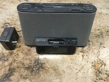 Sony (ICF-CS10iP) FM / AM Alarm Clock Radio Speaker Dock For iPod / iPhone- used