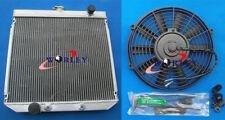 "56MM 3 ROWS FOR FORD FALCON XY/XW 302/250 V8/L6 ALLOY ALUMINUM RADIATOR &16"" FAN"