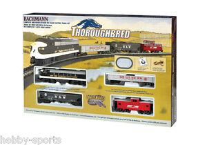 Bachmann HO Thoroughbred Train Set EMD F7 Diesel Locomotive E-Z Track BAC00691