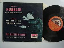 """KUBELIK Bartok  Music for Strings & Celesta RARE 10"""" HVM JBLP 1032  IMP  LP"""