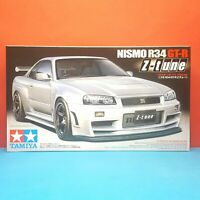 Tamiya 1/24 Nissan Skyline GT-R R34 [BNR34] Nismo Z-Tune model kit #24282