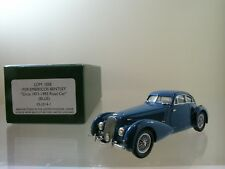 LANSDOWNE MODELS LDM105E BENTLEY EMBRICOS ROADCAR 1939 BLUE HANDBUILT + BOX 1:43