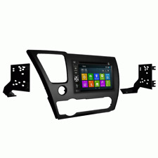 DVD GPS Navigation Bluetooth Multimedia Radio and Dash Kit for Honda Civic 2013