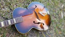 1953 Gretsch Synchromatic Jazz Guitar Lifton Case Brazilian Rosewood fretboard