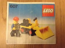 Lego 607 Mini Loader from 1979  -  instuctions only - free postage