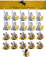 21PCS Game of Thrones House Baratheon Archer Spear Army Building Blocks DIY Toy